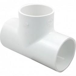 "Tee PVC Hidráulico 1"""