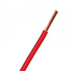 Cable THW Cal. 6 Argos Rojo